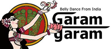 ベリーダンス衣装とレッスン着のガラムガラム